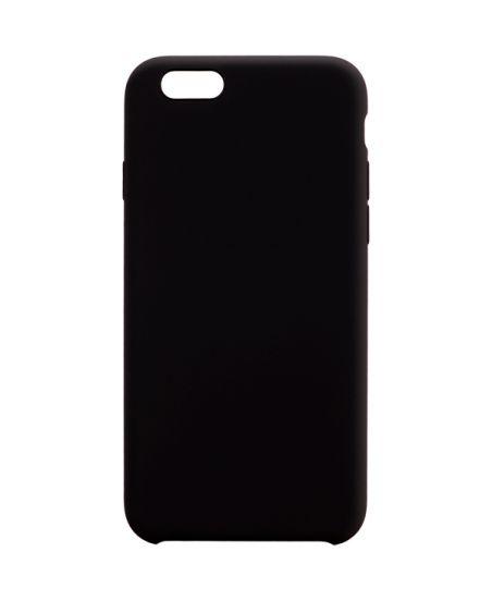 Чехол для iPhone InterStep iPhone 6/6S SOFT-T METAL ADV черный